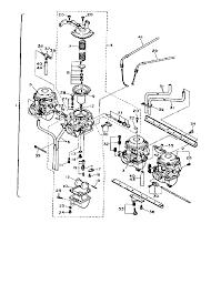 1987 yamaha fj1200 ca f1200tc carburetor parts best oem rh bikebandit 150cc scooter carb diagram