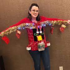 Light Up Christmas Sweater Kids Ugly Christmas Sweater Diys Popsugar Smart Living