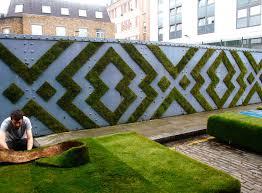 a geometric installation