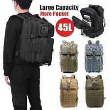 <b>40L</b> 3D Men <b>Tactical Backpack military backpack</b> Outdoor Sports ...