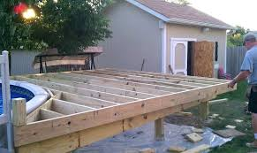 how to build a deck around an above ground pool in decorations cost inground texas