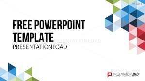 templates powerpoint gratis presentationload free powerpoint template geometric shapes