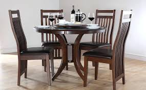 kitchen table set for dinner. Delighful Dinner Wood Dinner Table Set Dining Tables  With Bench Black Finished Of Circle Round Dinette Intended Kitchen For M
