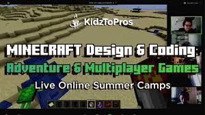 minecraft coding game design