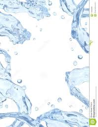 Design Droplets Water Splash With Water Droplets Isolated Liquid Template