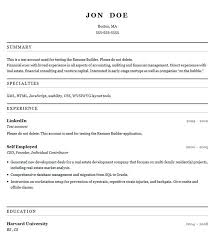 Resume Builder Format | Resume Format And Resume Maker
