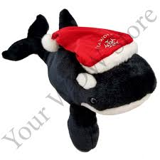 add to my lists seaworld plush santa shamu