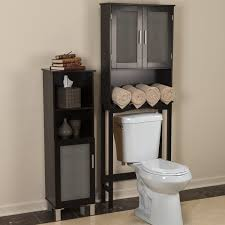 Above Toilet Cabinet bathroom interesting toilet etagere for your bathroom storage 4556 by uwakikaiketsu.us