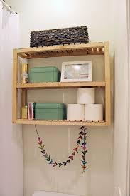 wooden bathroom shelves bathroom