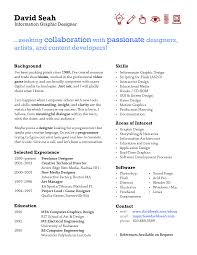Resume One Page Resume Examples