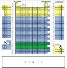 Medieval Times Lyndhurst Seating Chart Seating Chart For Bucks County Playhouse Located In New Hope