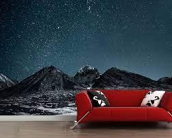 Papel de parede Starry night sky ...