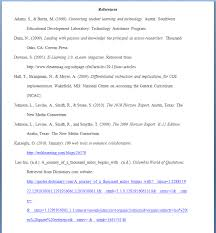 Appendix A Apa References Diana Sullivan Internship Portfolio