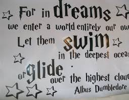 Dumbledore Quote About Dreams