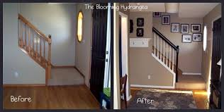 paint over stained wood trim before after pictures it will help you with your decision to paint or not to paint the wood baseboard and trim