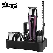 <b>DSP</b> ABS& Steel Rechargeable 5 in 1 suit <b>Hair Clipper</b> Washable ...
