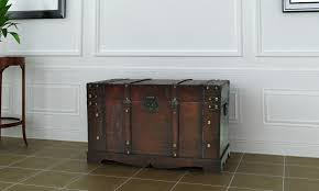 Furniture: Vintage Treasure Chest Furniture And Bedroom Furniture Treasure  Chest   Linen Chest Furniture