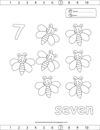 Small Picture Counting 1 20 Coloring Pages Learning Pinterest Count