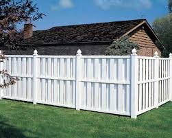 Vinyl Privacy Fence Ideas Shadow House Intended Decorating