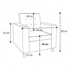 sofa chair measurements google search