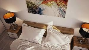 simple apartment bedroom. Modren Simple Simple U0026 Modern TwoBedroom Apartment And Bedroom L