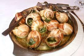 Французская кухня особенности и лучшие блюда национальной кухни  Улитки в чесночном соусе