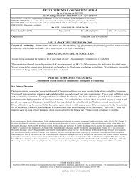 007 Template Ideas 008589449 1 Army Counseling Plan Of
