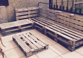 awesome pallet patio sectional outdoor pallet sectional sofa