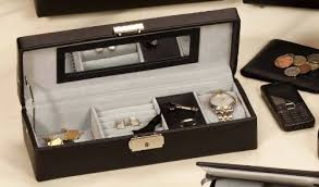 cheap mens watch jewellery box mens watch jewellery box mens leather valet cufflinks and watch jewellery box make the perfectl gift for fathers day