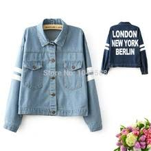 Women&#39;s London <b>New York</b>, Berlin Printing Denim / Jeans ...