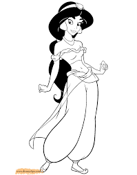 Small Picture aladdin coloring pages bing images jasmine color pages aladdin