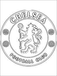 Chelsea Fc Kleurplaten Logo Gratis Kleurplaten