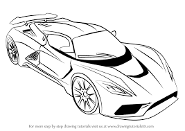 sport cars drawings.  Drawings Learn How To Draw Venom F5 Sports Cars Step By  Drawing Tutorials Inside Sport Cars Drawings