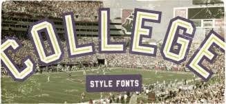 collage fonts free 25 of the best free college fonts