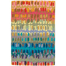 colorful rugs. Paint Chip Micro Hooked Wool Rug Colorful Rugs