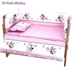 mouse crib bedding set hot cm baby sets include pillow pers with minnie bed cri