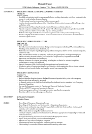 Dispatcher Resume Samples Emergency Dispatcher Resume Samples Velvet Jobs