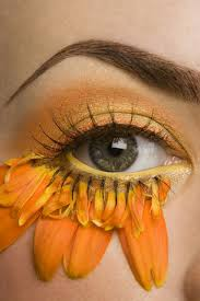 fantasy sunflower eye