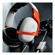 polk audio striker p1 gaming headset lightweight controller plug the headset into the polk in line adapter then plug the adapter into your controller to have a wireless experience from your console
