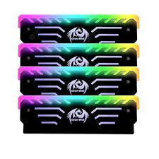 3PIN RAM Memory Cooling Vest 256 RGB Automatic Light Radiator ...
