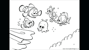 Finding Nemo Coloring Page Colouring Pages To Print Squirt Online