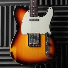 Fender Custom Shop Designed Telecaster Fender Custom Shop Limited Edition63 Relic Telecaster Brazilian