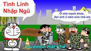 Tình Lính Nhập Ngũ Chế Để Cho Anh Khóc Cover - Lê Bảo Bình - Lee Ht - [ Doremon Hát Chế] - Video analysis report