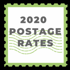 2019 Postage Rate Chart Printable 2020 Postage Rate Charts Nonprofit Direct Mail Production