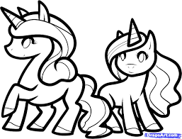 Small Picture Unique Unicorn DrawingsUnicornPrintable Coloring Pages Free Download