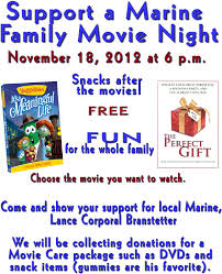 Support A Marine Movie Night At Town & Country Christian Church ...