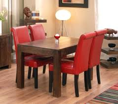 dining table with leather chairs red upholstered dining room chairs inside modern oak dining table cream dining table with leather chairs