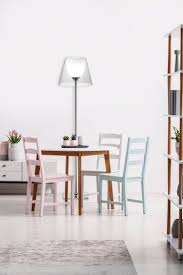 Tripod Table Lamp With Grey Shade Staande Lamp Led Design