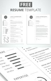 Cv Resume Template Gorgeous Free Resume Downloadable Templates Free Minimalistic Cv Resume