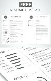 Free Resume Downloadable Templates Free Minimalistic Cv Resume